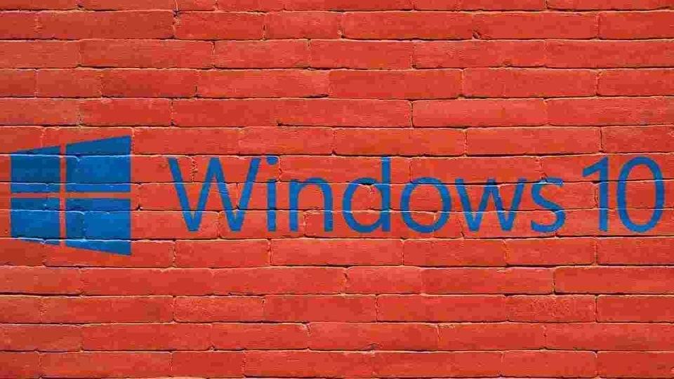 Windows 10 update installation failure.