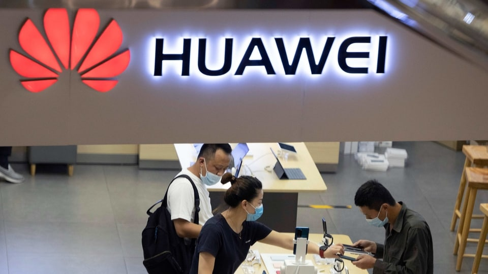 In an appearance on Fox on Monday, President Donald Trump accused Huawei, without evidence, of spying on Americans.
