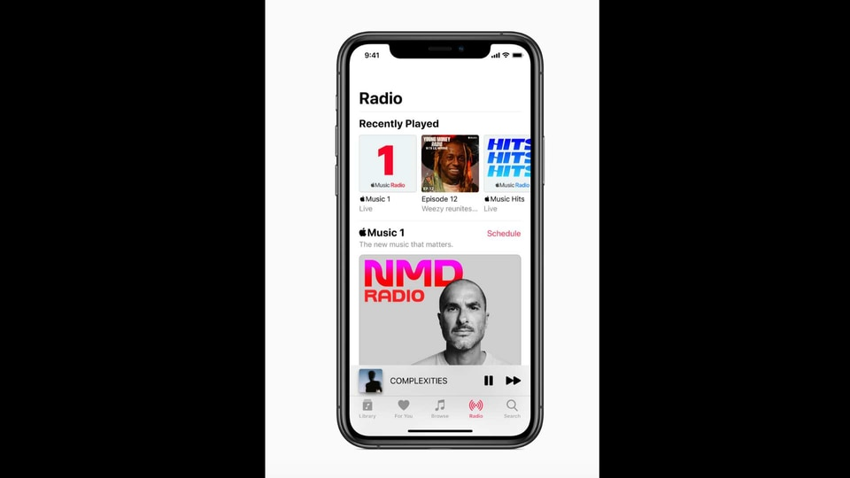 Apple is launching two new radio stations - Apple Music Hits, celebrating everyone's favourite songs from the '80s, '90s and 2000s; and Apple Music Country, spotlighting country music.