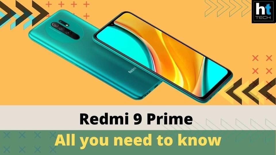 Redmi 9 Prime.
