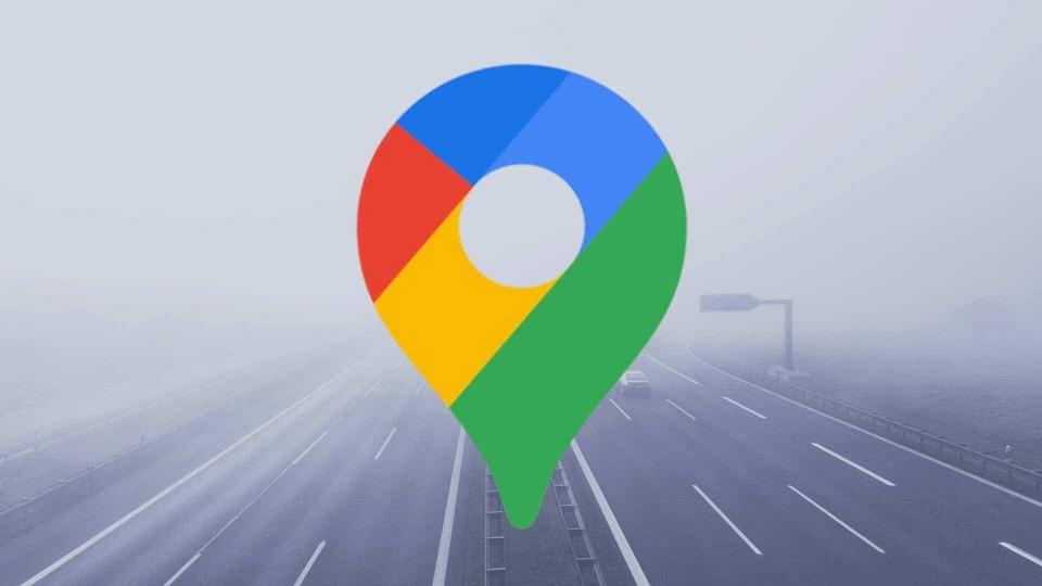 Google Maps logo.