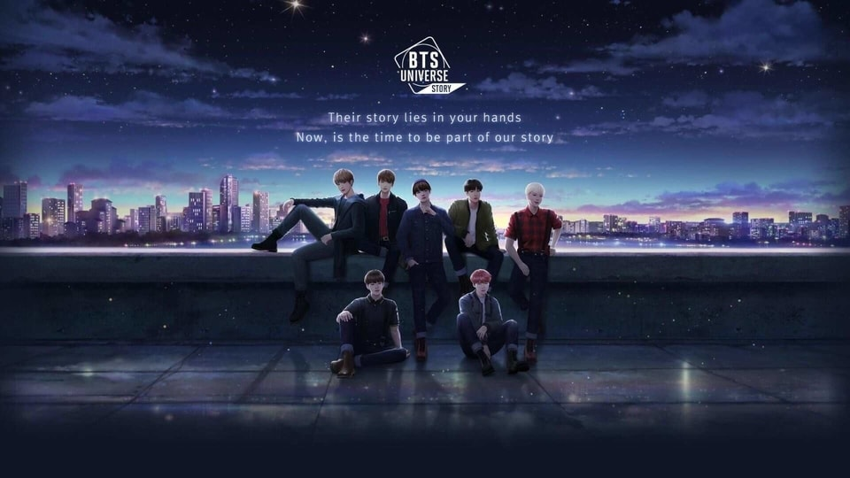 BTS Universe Story game.