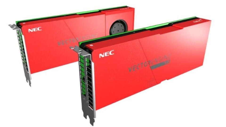 NEC SX-Aurora TSUBASA AI platform