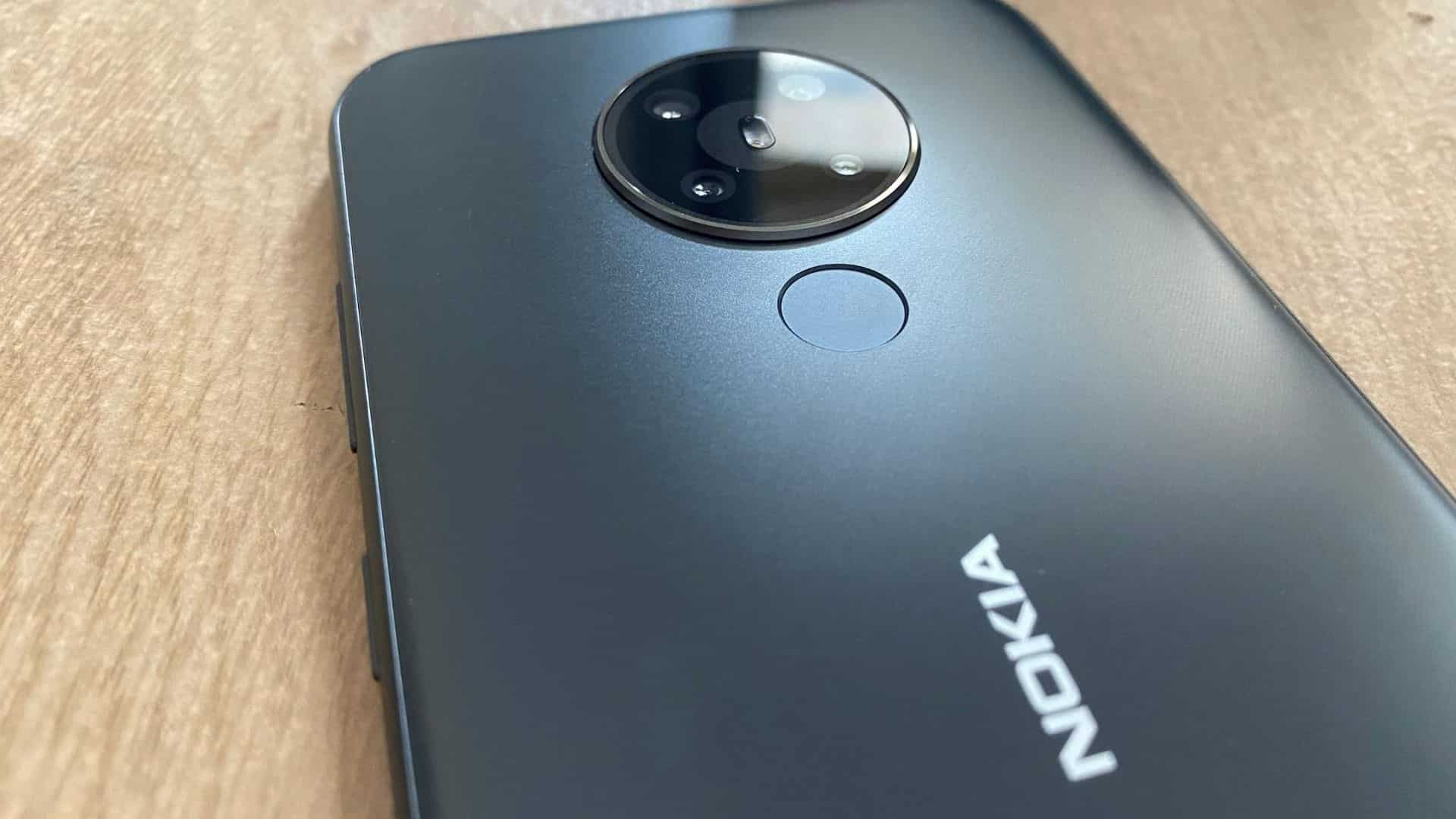 Nokia 5.3 comes in three colour options of cyan, sand and charcoal.