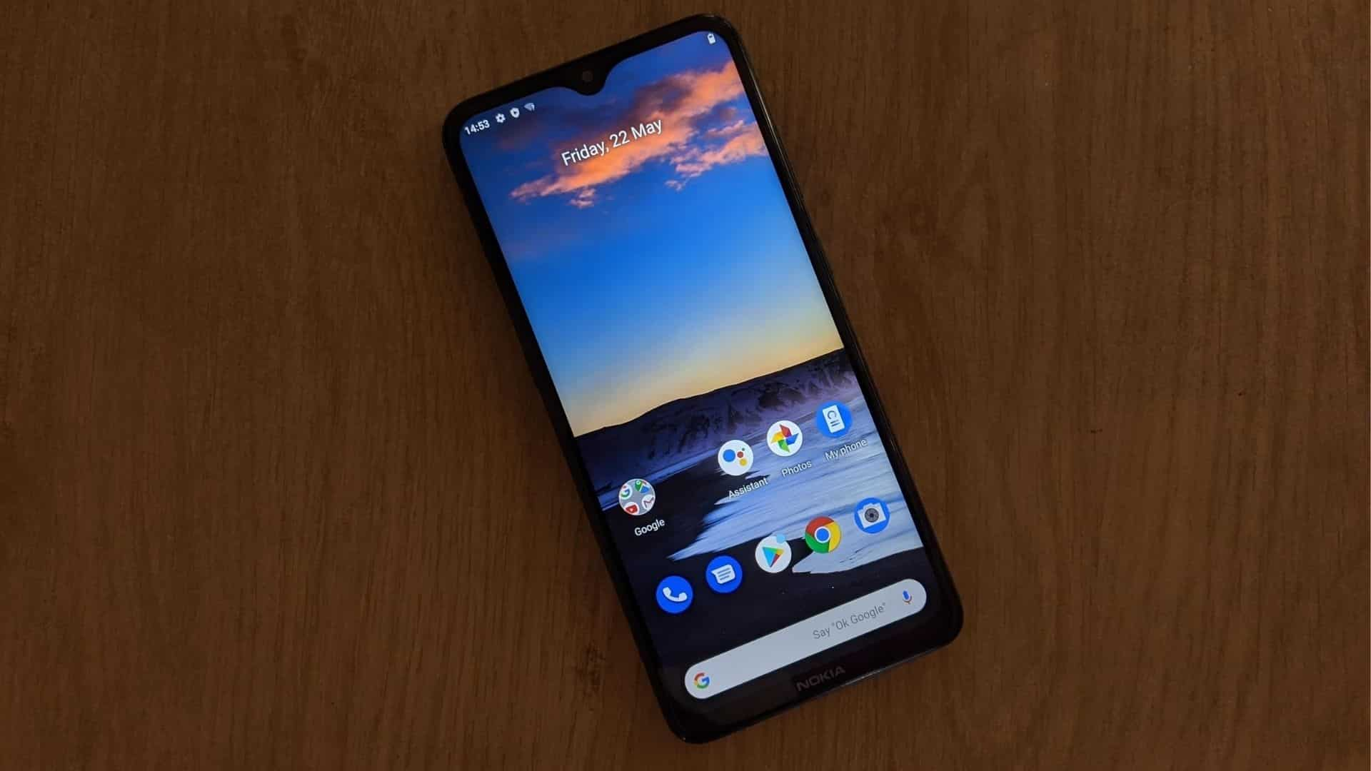 Nokia 5.3 features a 6.55-inch HD+ display with a notch on top.