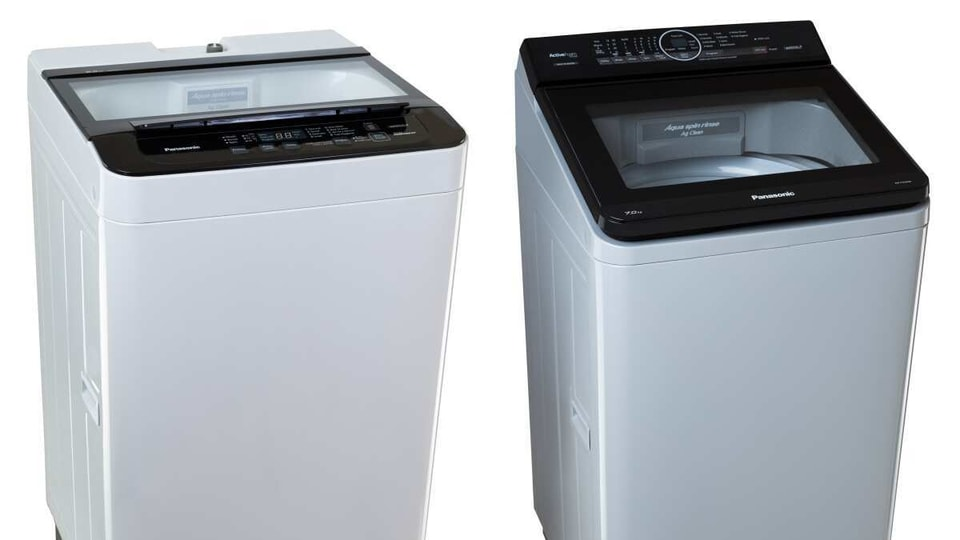 Panasonic launches 21 new washing machines.