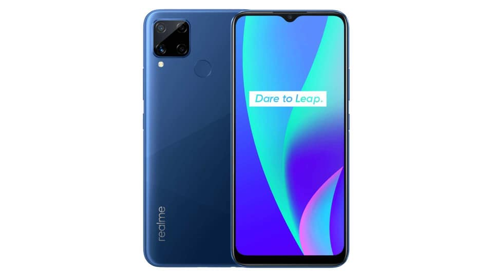 Realme C15 launched in India.