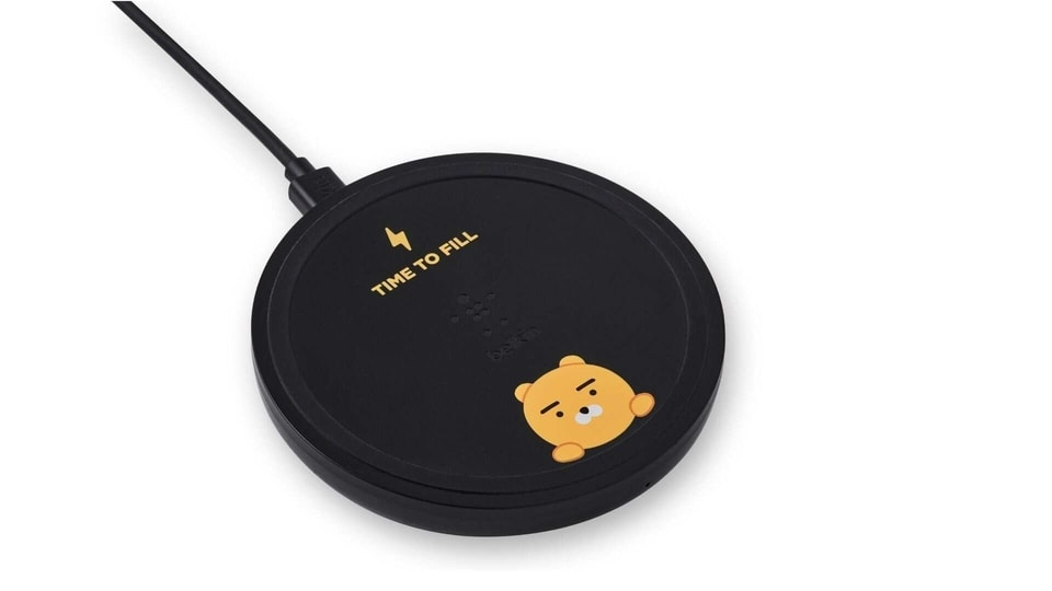 Belkin Kakao Friends 10W wireless charging pad.