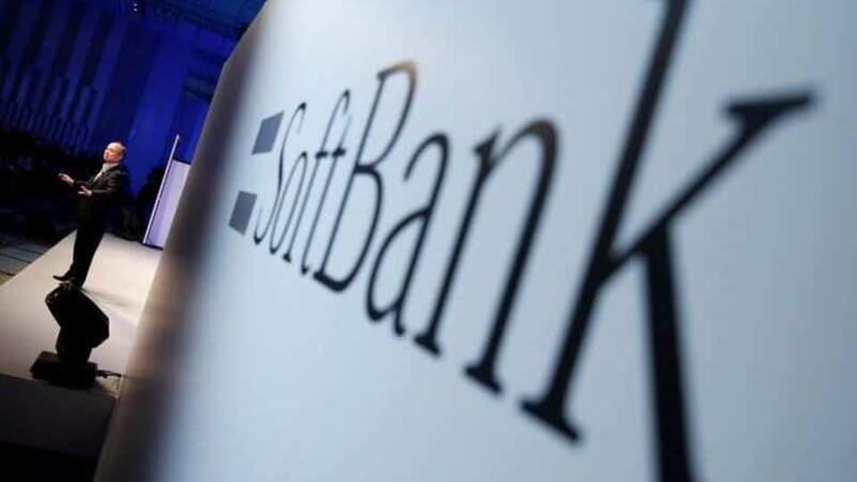 SoftBank shares.