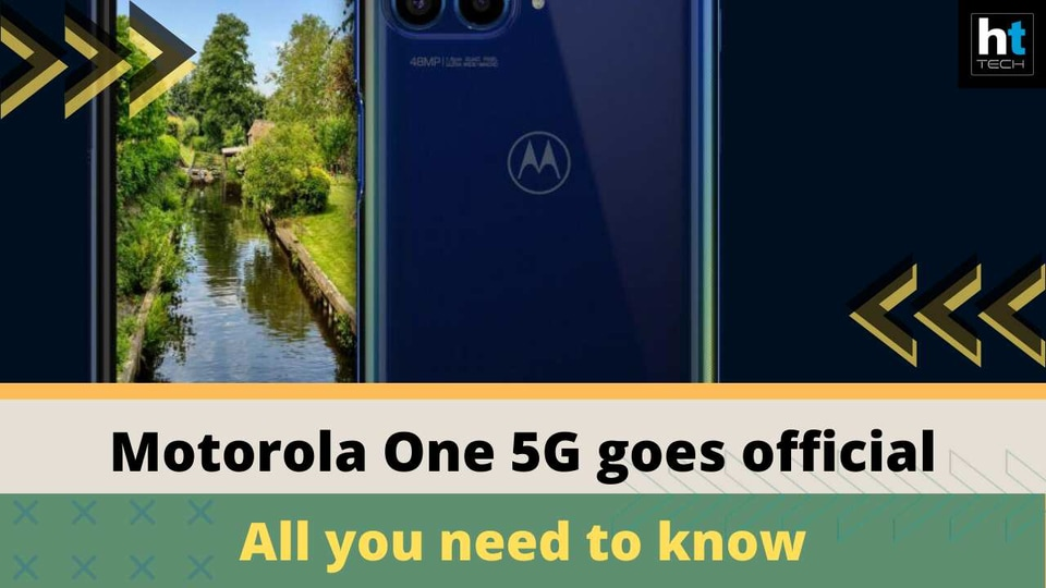 Motorola One 5G launched