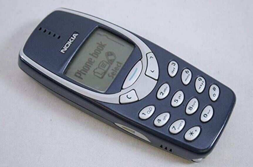 One of its iconic and most popular phones of all times is the Nokia 3310.