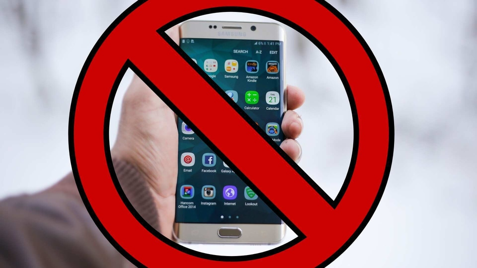 Banned apps.