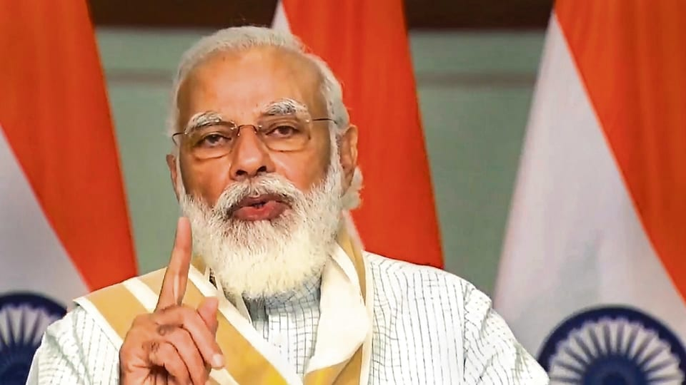We must ensure India is self-reliant in every sector, urged PM Narendra Modi. pti