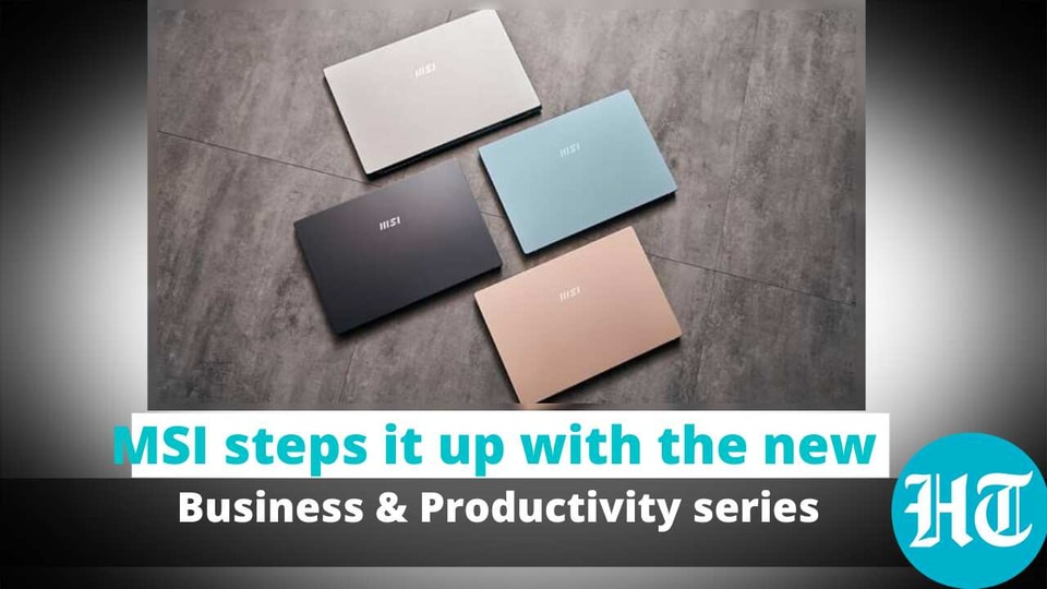 The Business & Productivity series includes the Summit, Prestige and Modern laptops.