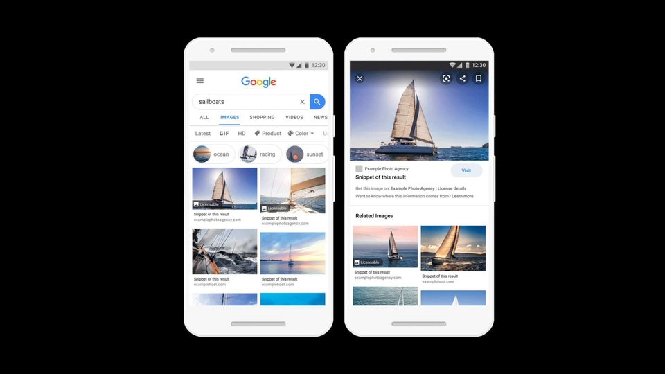 Thanks to Google's new updated Image Search, it is easier to find free-to-use images. And also find images that are not free for use but you can license and then use them for free.
