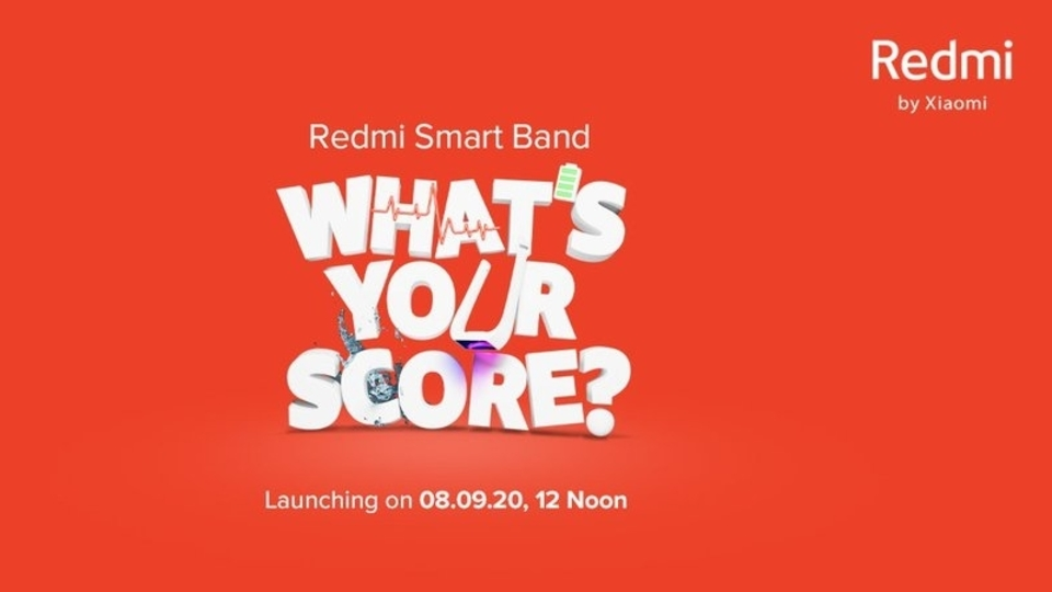 Redmi Smart Band India launch.