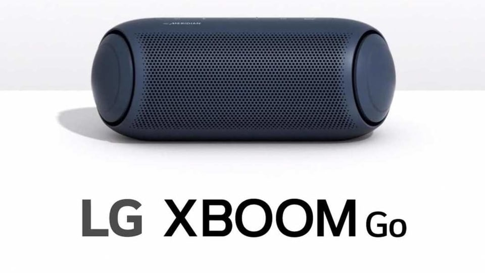 LG XBoom Go speakers