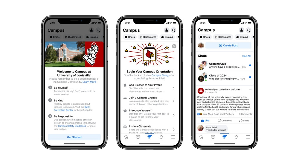 Campus seems to be a way for Facebook to keep its younger users and students engaged for longer while building off the main app behaviour itself.