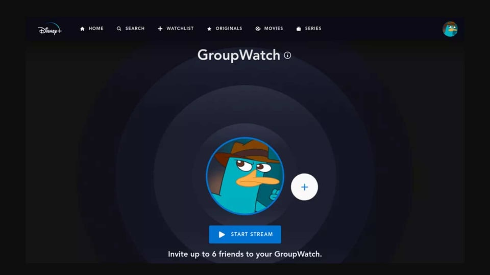 GroupWatch feature is currently being tested in Canada for some of the Disney+ subscribers.