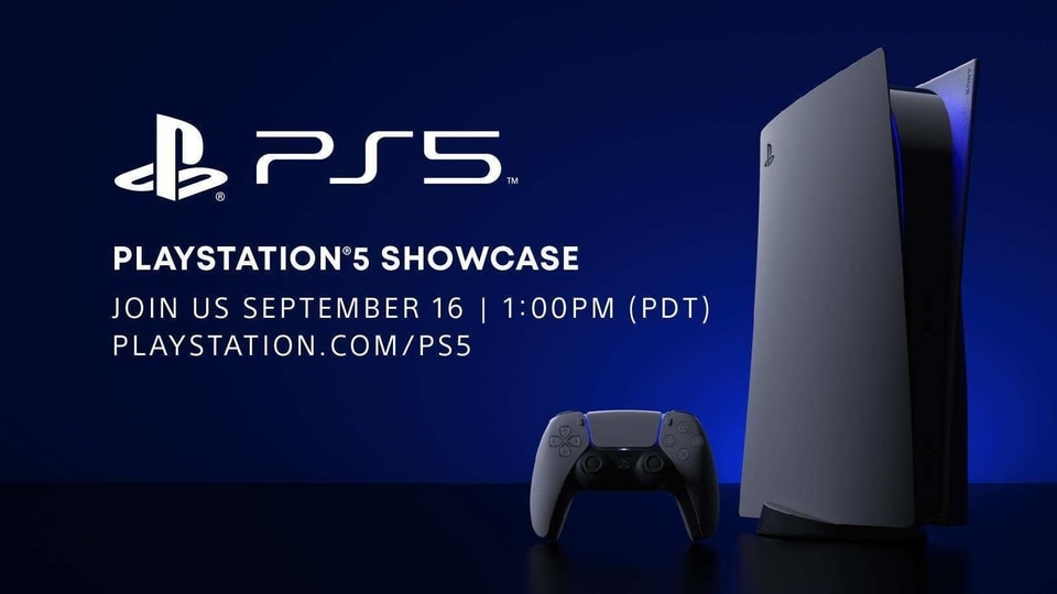 Sony PS5 Showcase event.