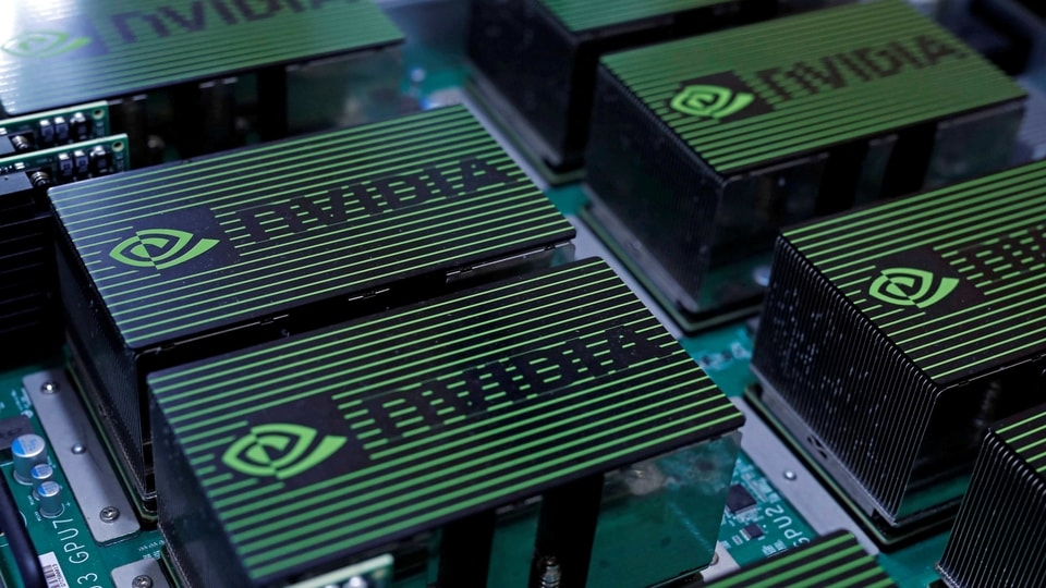 Nvidia is now the third-largest chipmaker by market capitalization, behind Taiwan Semiconductor Manufacturing Co. and Samsung Electronics Co.