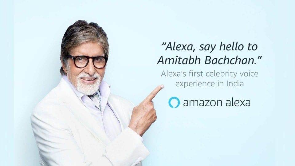 Amitabh Bachchan becomes first Indian celebrity to lend voice to Alexa
