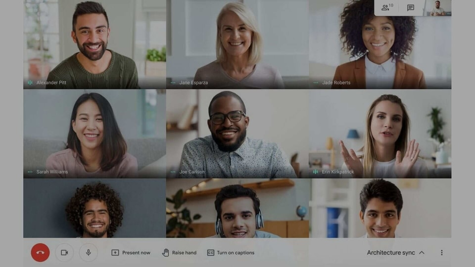 Now you can see up to 49 people, including yourself, in Google Meet