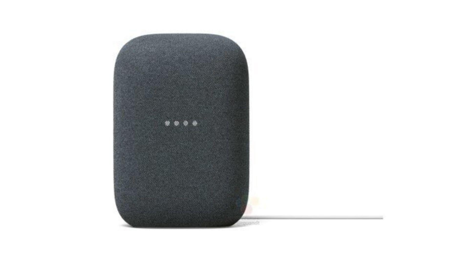 Google Nest smart speaker.