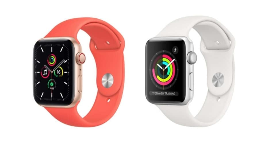 Apple Watch SE vs Series 6.