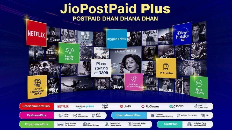 Reliance Jio Launches 'Postpaid Plus' Plans Starting at Rs 399