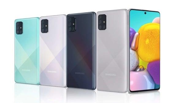 Samsung Galaxy A71 to get a successor soon.