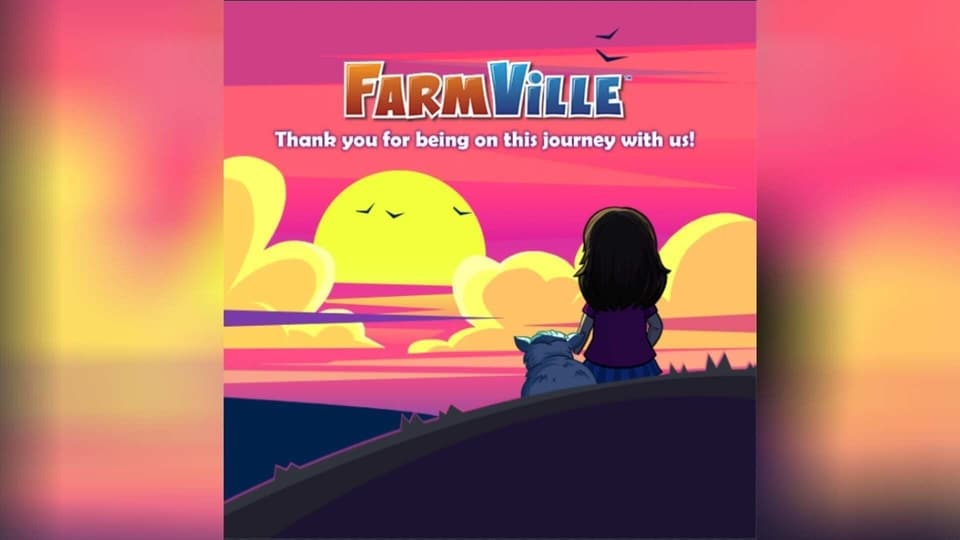 The original FarmVille is shutting down after 11 years