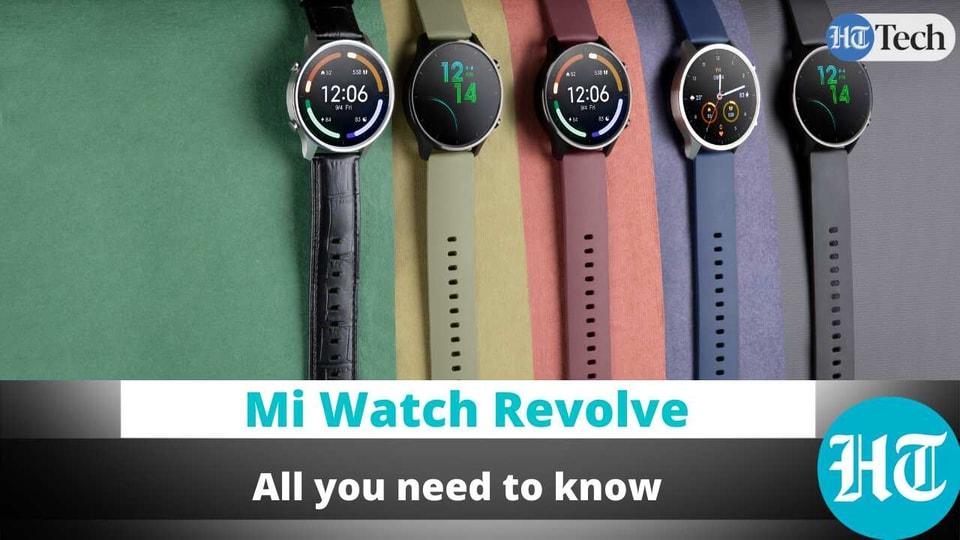 Mi Watch Revolve is here