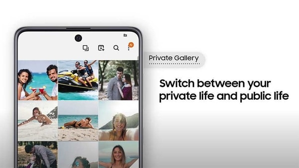 As part of Alt Z life, Samsung has introduced two game-changing privacy features called Quick Switch and Intelligent Content Suggestions.