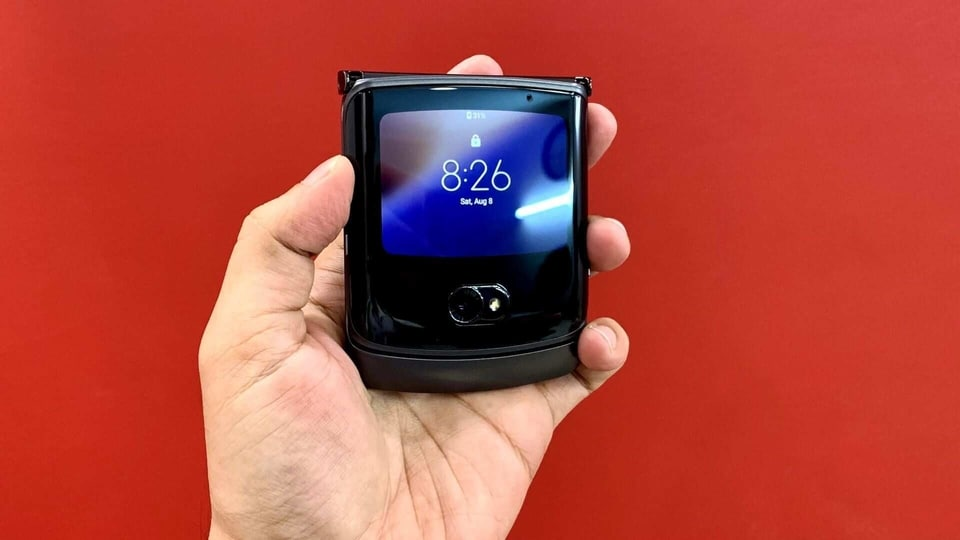 Razr 5G foldable phone comes to India