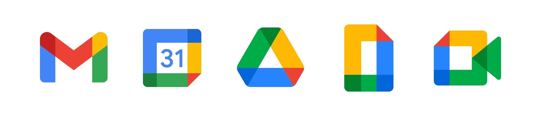 Google Workspace logos.
