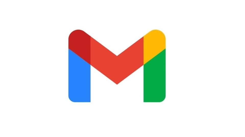 New Gmail logo.