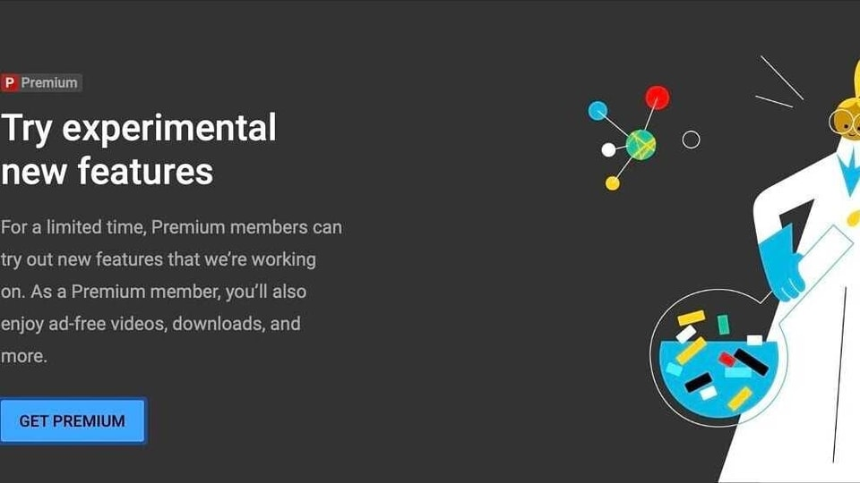 If you are a YouTube Premium subscriber, you can get access to the platform's experimental products that are in the development pipeline.