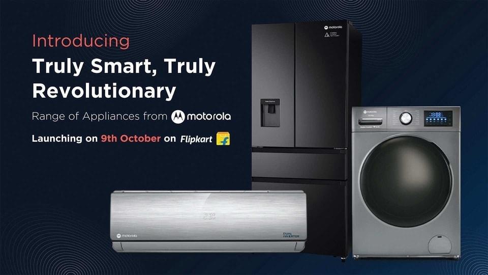 Motorola smart home appliances.