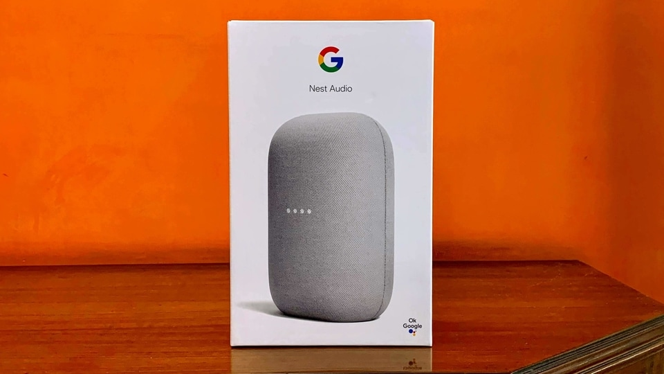 Google's Nest Audio has launched in India alongside Pixel 4A, priced at  <span class='webrupee'>₹</span>7,999.