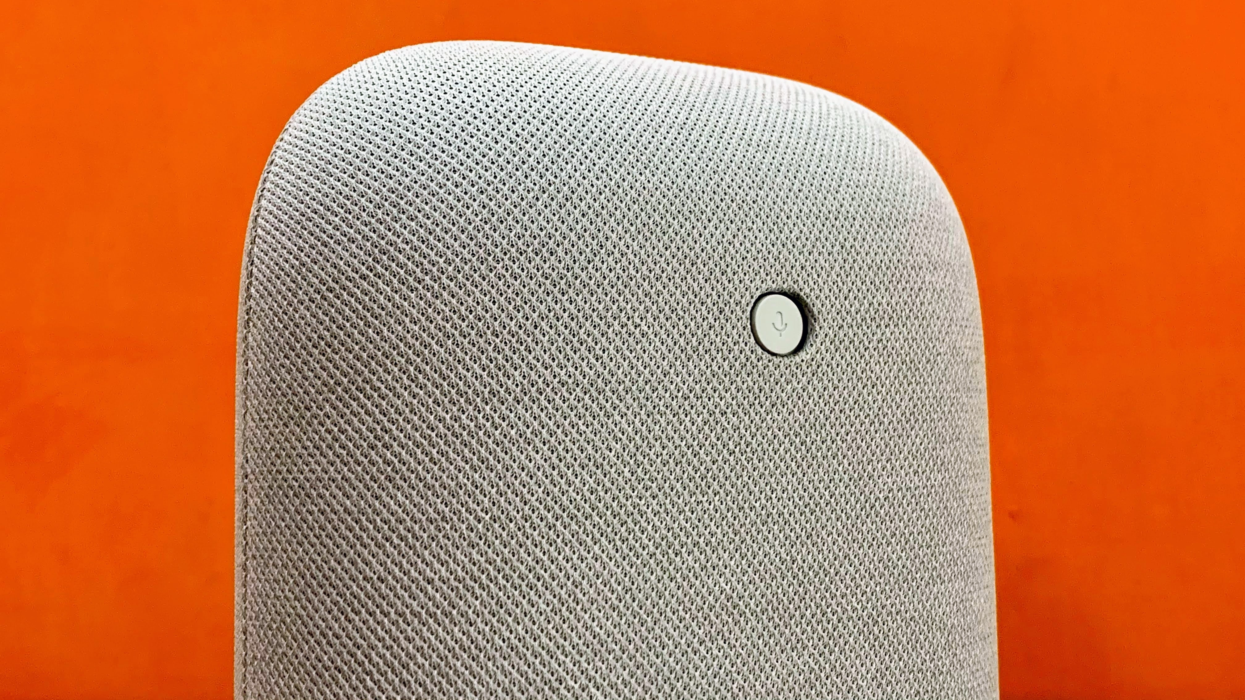 There is a microphone disable button as well like what we have seen in previous Google Home products.