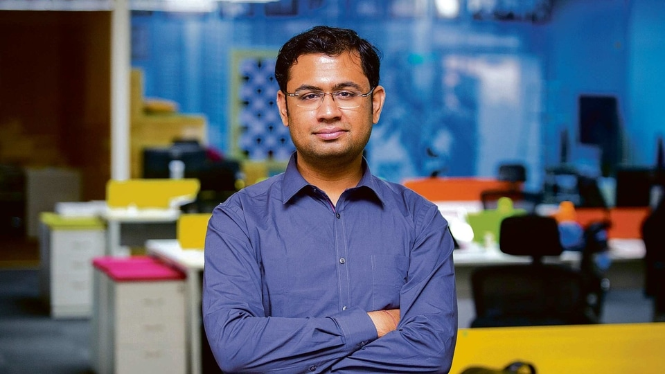 Harshil Mathur, chief executive and co-founder of Razorpay. The fintech firm has raised $100 million in its latest funding round.
