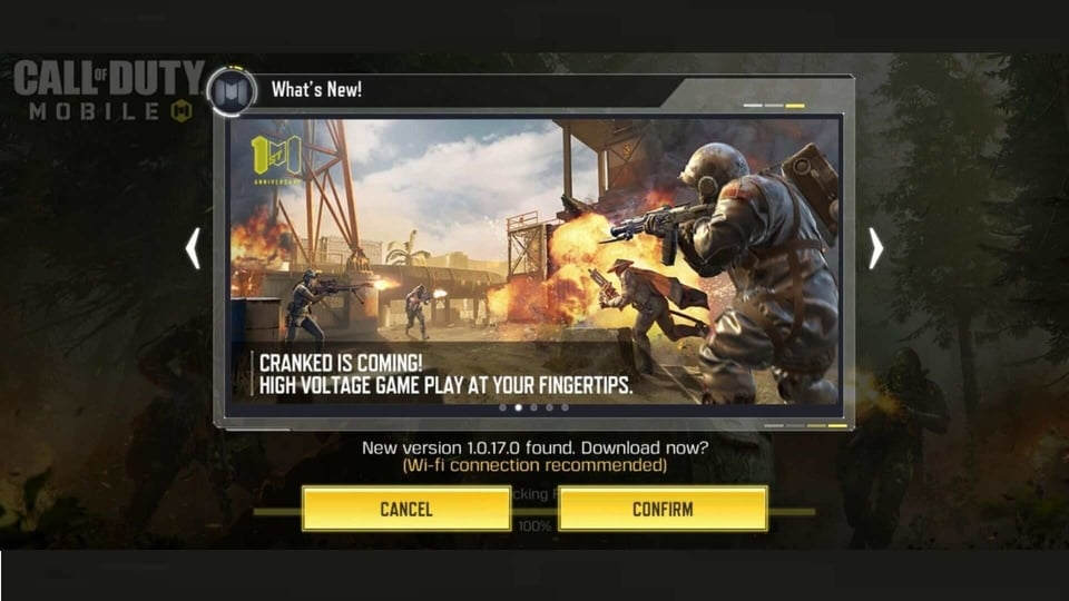 Call of Duty Mobile 1st year anniversary season rolls out