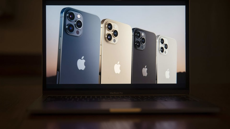 The Apple iPhone 12 Pro Max unveiled during the virtual product launch on Tuesday, October 13. Apple revealed four redesigned iPhones with 5G wireless capability, upgraded cameras, faster processors and a wider range of screen sizes.
