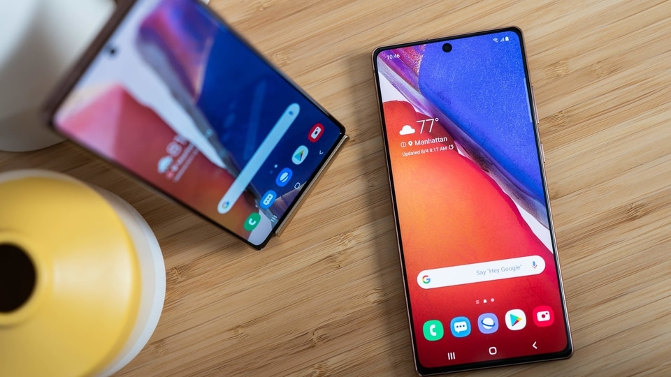 Samsung is widening the gap with market No. 2 Huawei.