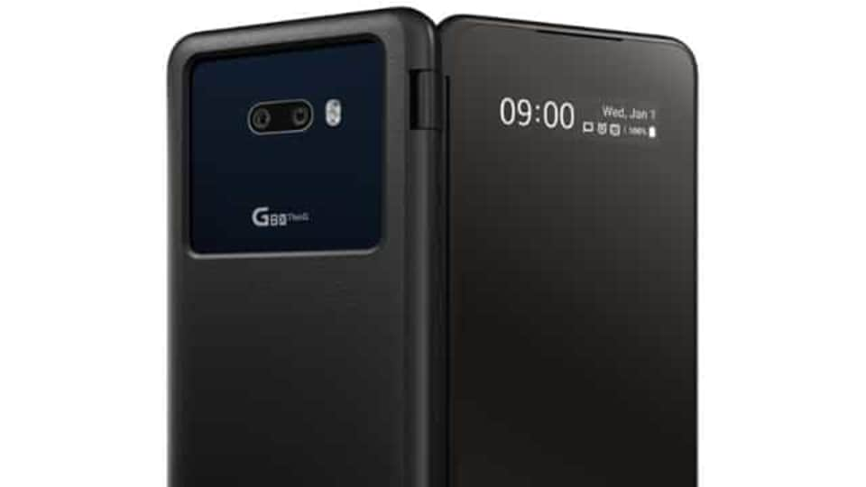The LG G8X ThinQ comes with dual cameras on the back, a 12MP and a 13MP super wide-angle, and a 32MP selfie shooter
