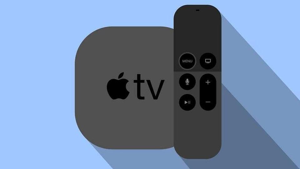Apple TV Remote illustration.