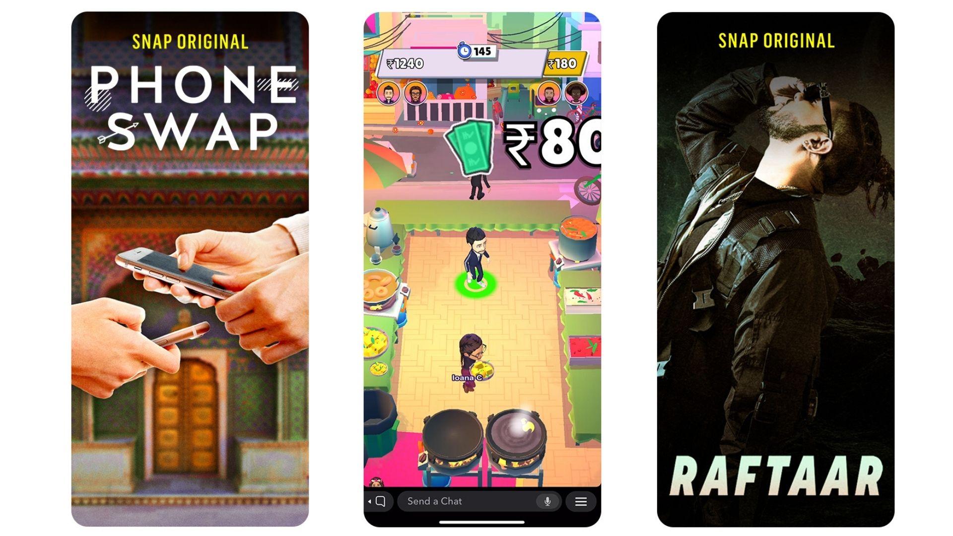 Snapchat is bringing a Hindi adaptation of its most popular Snap Original, Phone Swap.