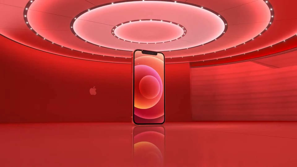 Apple iPhone 12 Product Red