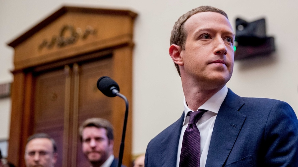 In this Wednesday, Oct. 23, 2019, file photo, Facebook CEO Mark Zuckerberg arrives for a House Financial Services Committee hearing on Capitol Hill in Washington, on Facebook's impact on the financial services and housing sectors.